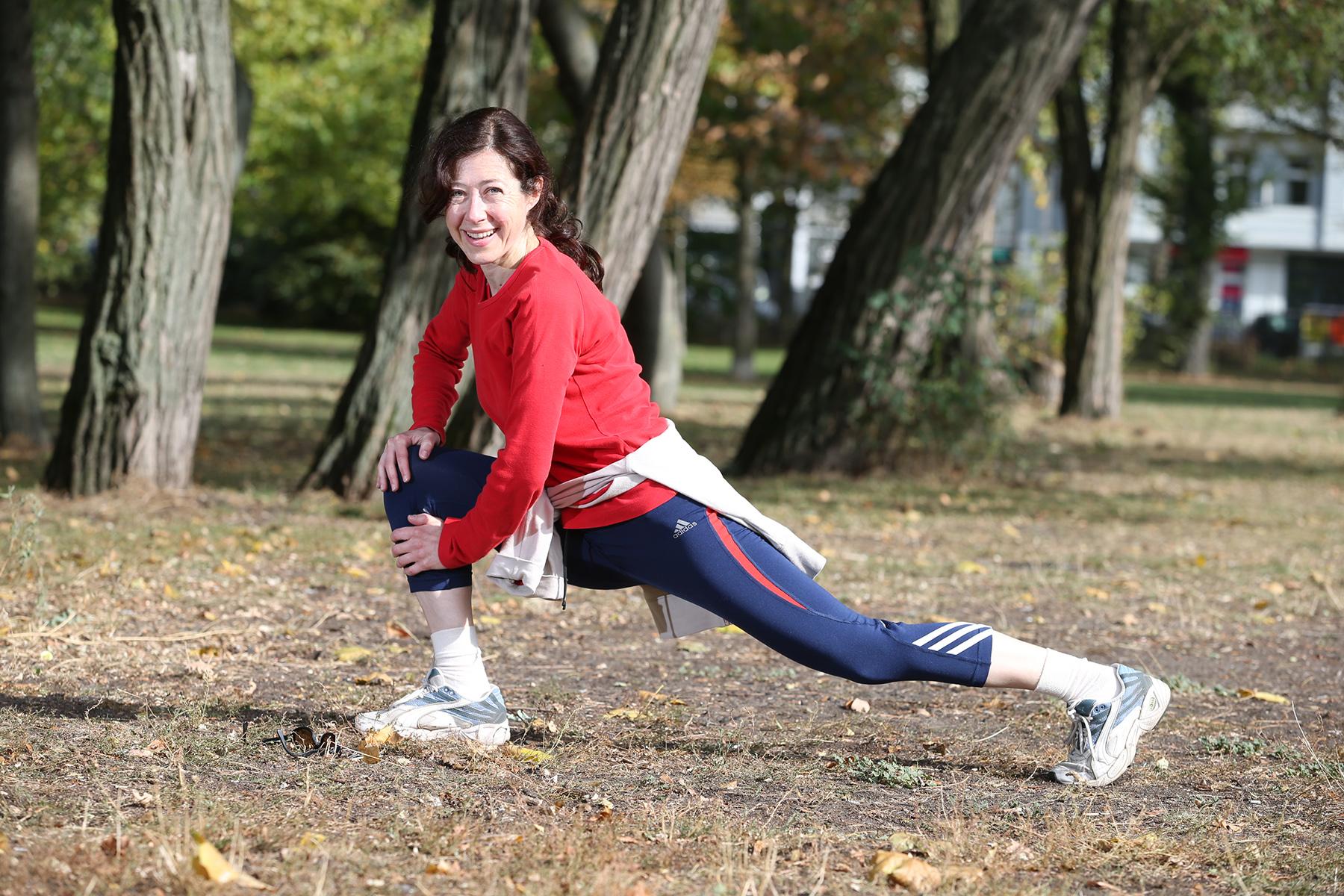 """Caterina Dell Anna (48) aus Prenzlauer Berg """"Richtig glücklich macht mich Sport in der Natur"""""""