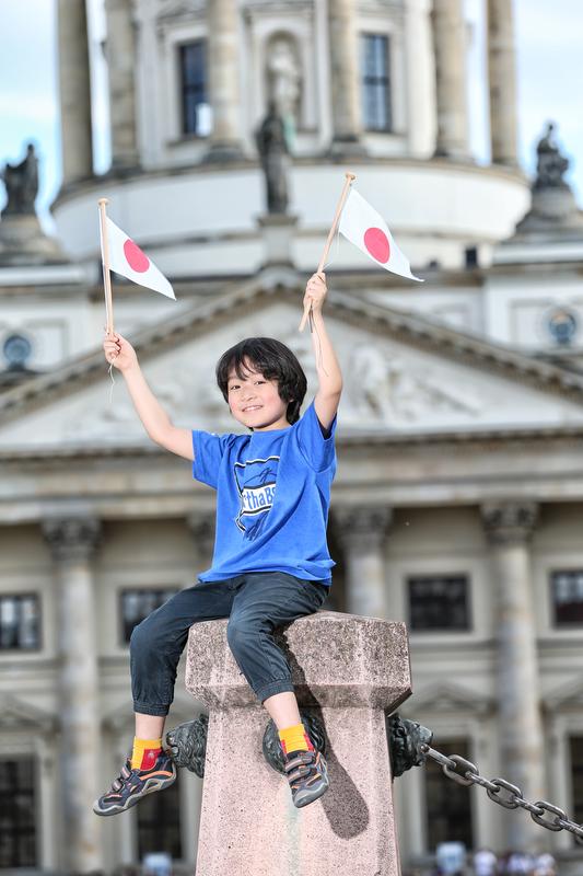 JAPAN: Marian Kitano (8), Schüler Stadtteil: Steglitz Eine von uns seit: 2006 Heimatstadt: Sapporo Das Beste an Berlin:  Der Zoo Japans WM endet: Achtelfinale  Mein Herz schlägt für : Japan+Deutschland  Die Wm schaue ich : Zu Hause mit Familie und Freunden